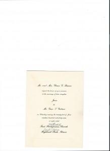 The Invite 1947